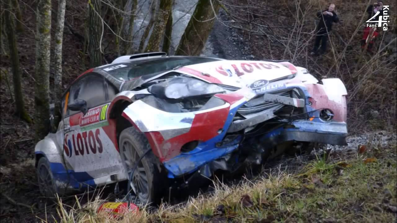 robert kubica crash after the accident ss9 wrc rallye monte carlo 2014 youtube. Black Bedroom Furniture Sets. Home Design Ideas