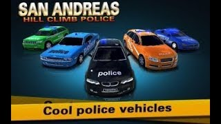Police 911 Games San Andreas Hill Climb Police Car GamePlay