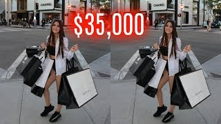 $35,000 LUXURY HAUL | Nicolette Gray