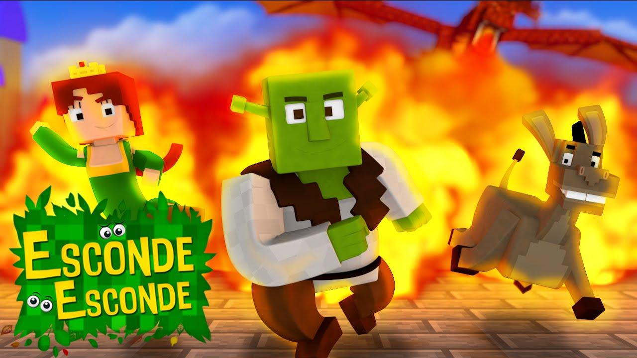 Minecraft: SHREK - O FILME! (Esconde-Esconde)