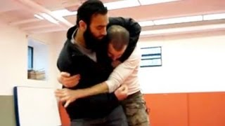 Nick Drossos Teaching How to get out of a Headlock