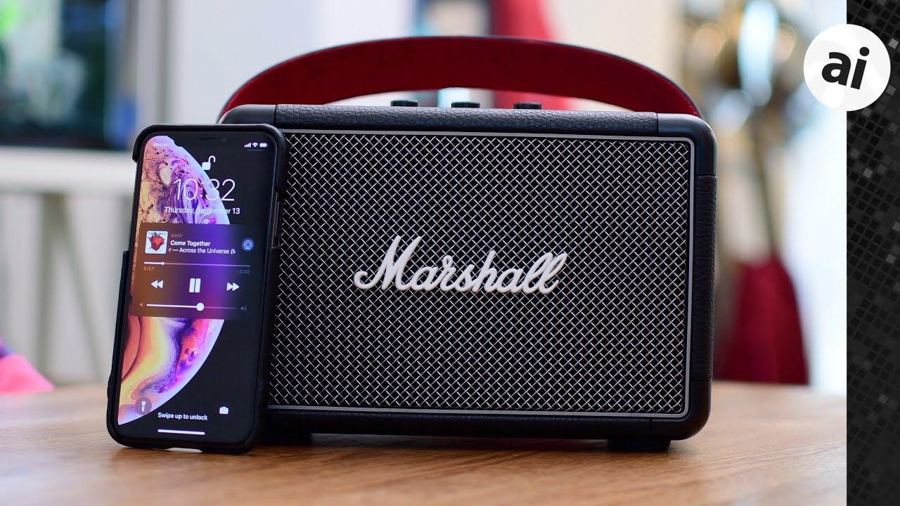 Review: Marshall Kilburn II is a Rugged Portable Speaker for Your Inner  Rocker