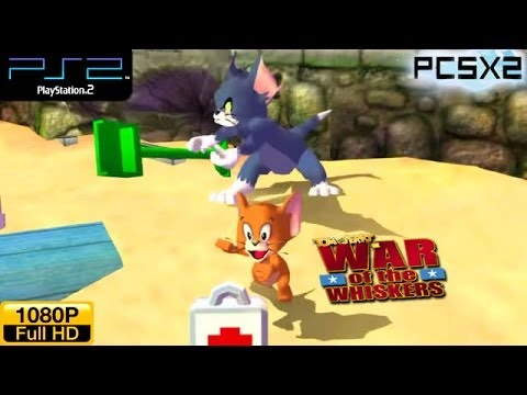 Tom and Jerry: War of the Whiskers - PS2 Gameplay / Walkthrough HD 1080P Part 1 - Tom