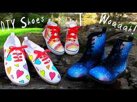 Thumbnail: DIY Clothes! 3 DIY Shoes Projects (DIY Sneakers, Boots, Fashion & More). Amazing!