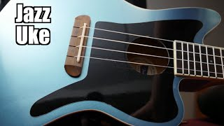 Special Guest, Unboxing the Jazz Uke | 2020 Fender Fullerton Jazzmaster Ukulele Review + Demo
