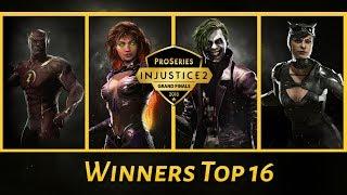 Injustice 2 Pro Series Finals 2018: SonicFox, HoneyBee, Tweedy, Semiij  (Winners Top 16)
