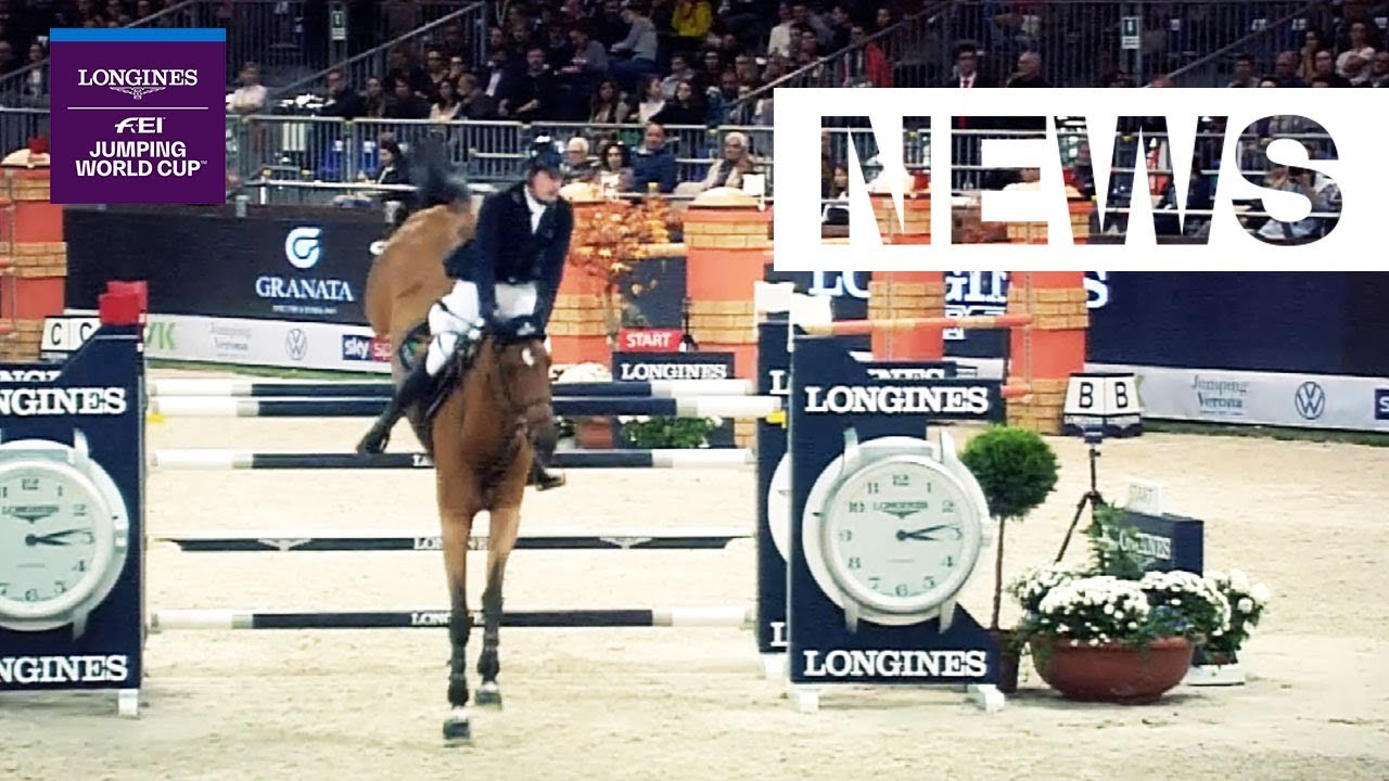Darragh Kenny & Scott Brash battle it out in Verona | Longines FEI Jumping World Cup™