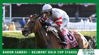 Vidéo de la course PMU BELMONT GOLD CUP STAKES