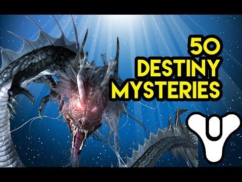 50 Destiny Lore Mysteries