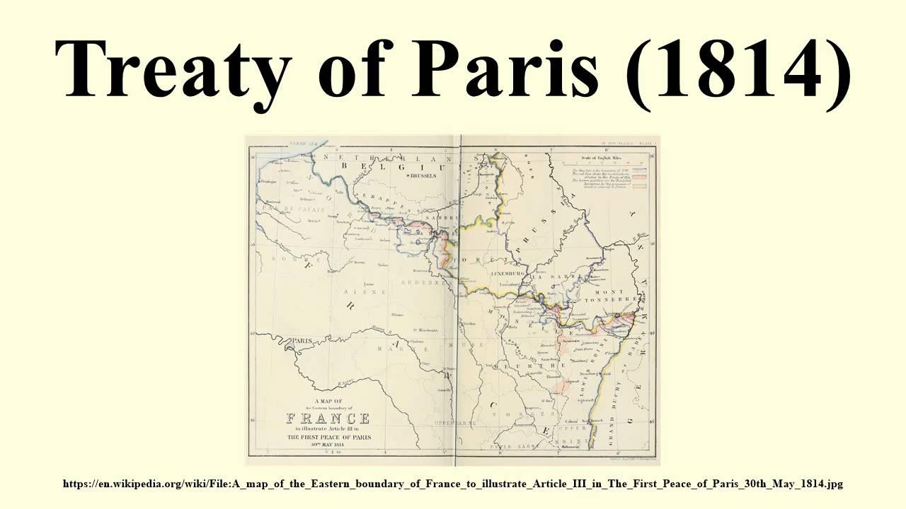 Treaty Of Paris YouTube - Treaty of paris map