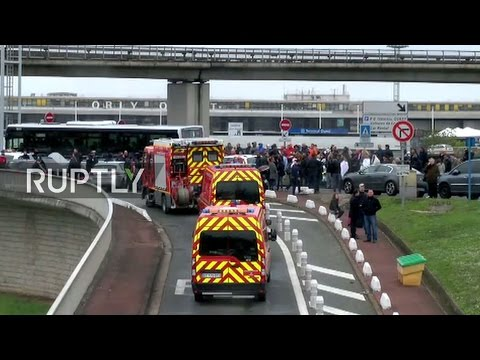 LIVE outside Paris Orly airport after police shoot man attempting to seize firearm