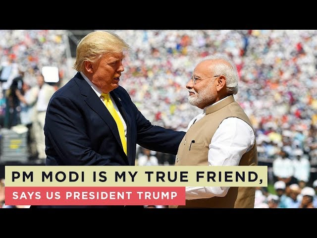 What US President Donald Trump said about PM Modi...Watch video!
