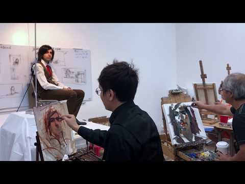 Jian Wang and Kai Lun Qu | Alla Prima Demo | CalColor Academ