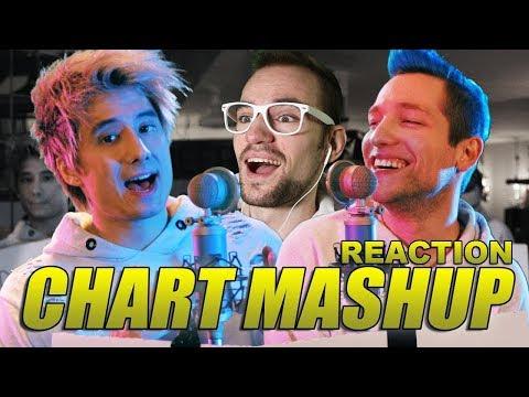 14 Chart Songs in 1 - Mashup mit Rezo | Julien Bam | REACTION