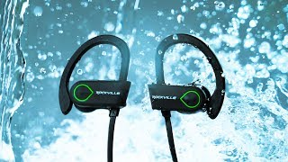 Rockville ROCKSPORT waterproof ACTIVE bluetooth earbuds
