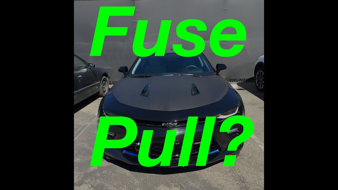 Camaro Ss Fuse Pull Should You Pull It