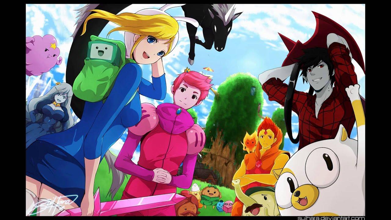 Adventure Time Anime Wallpaper Hora De Aventura Loquendo Rey Helado Parte 2 Youtube