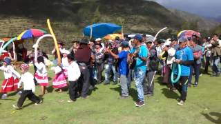 carnavales de caraybamba barrio santa rosa -febrero 2016