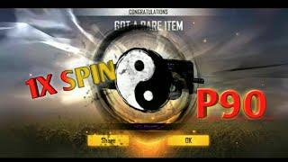 Cara Dapatkan Skin P90 Terbaru Sekali Spin - Free Fire