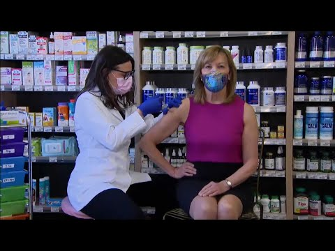 Ontario Health Minister Christine Elliott comments after receiving her first COVID-19 vaccine dose