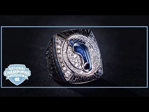 unc-men's-basketball:-tar-heels-receive-2017-championship-rings