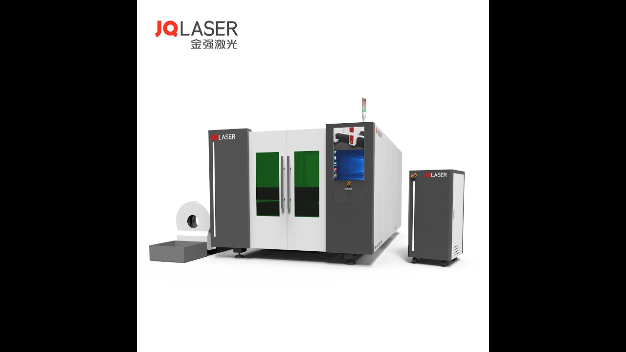 JQ1530cp laser cutting machine with 1000w/2000w/3000w for flat sheet