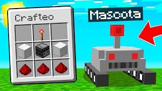 CREAMOS un ROBOT MASCOTA en MINECRAFT 🤖😱 MINECRAFT ALEATORIO