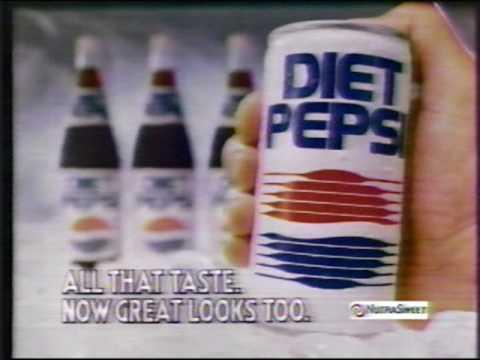 Diet Pepsi commercial 1987