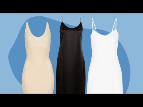 f6e607d70c31 The Must-Have Slips to Wear Under Summer Dresses - YouTube
