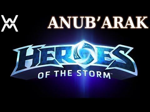 видео: heroes of the storm - Гайд - Ануб'Арак / anub'arak