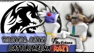 Friaza plays ROBLOX Martial Arts Battle Arena Kai [Part 1/2]