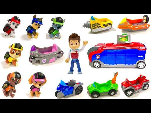 Thumbnail: Best Learning Colors Video for Children - Help Match Paw Patrol Pups to Mission Cruiser Vehicles
