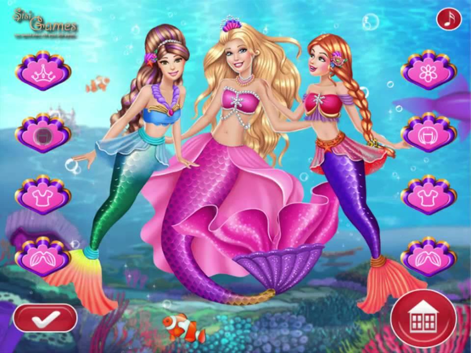 Barbie Mermaid Coronation - Play The Girl Game Online ...