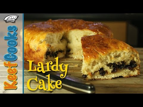 Lardy Cake | Lardy Bread | Fourses Cake | Traditional English Enriched Fruit Bread