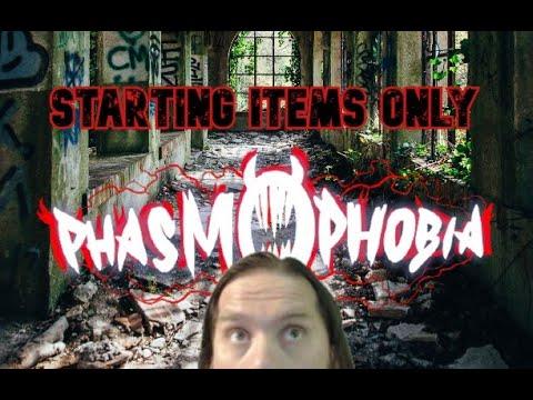 Solo Asylum Professional Basic Items Only - PhasmoPhobia