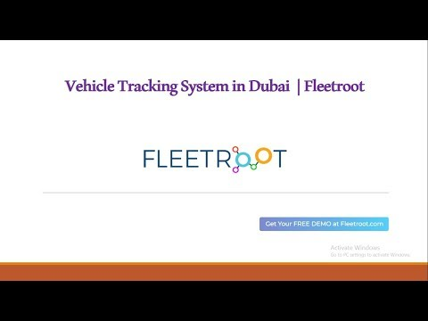Vehicle Tracking System In Dubai  |Call  +971525234328] | Fleetroot