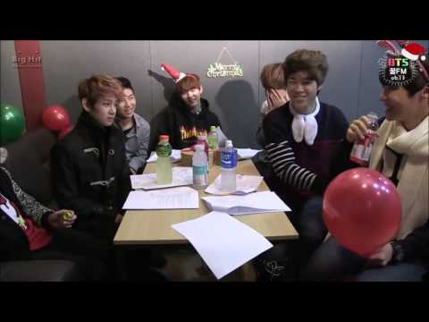 BANGTAN Merry Christmas [CUT] Typical idol's christmas (radio live)
