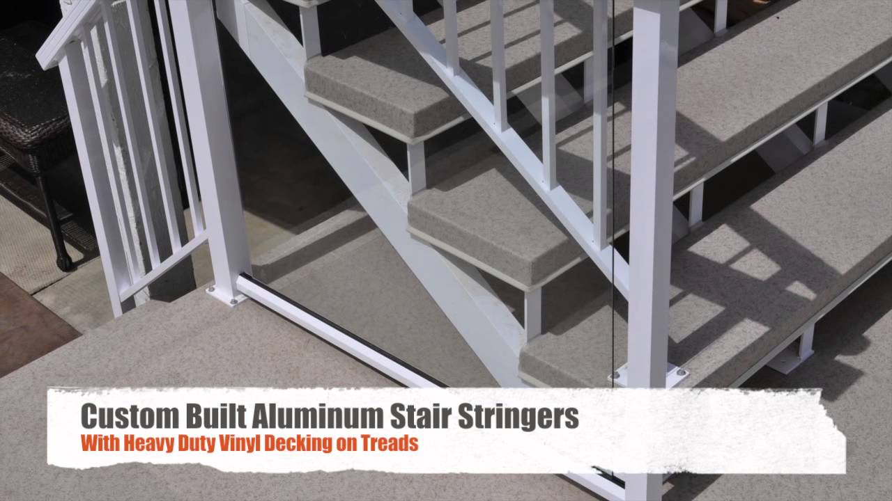 aluminum decking calgary | Vinyl Decking in Calgary - Before and After - YouTube
