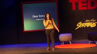 Ananya Panchal, TedX Talk, Dear Baby Girl