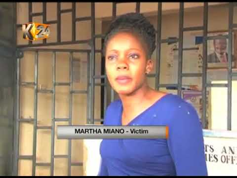 Man arrested and released for slapping a female observer in Nyeri