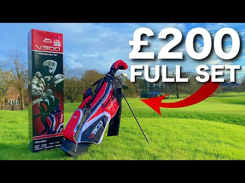 CHEAP PACKAGE SET CHALLENGE | £200 GOLF CLUBS