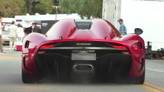 Christian Von Koenigsegg Driving His Regera!!!