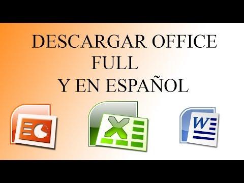 Descargar Office 2007 GRATIS //Full Y En Español// TODOS LOS SISTEMAS OPERATIVOS