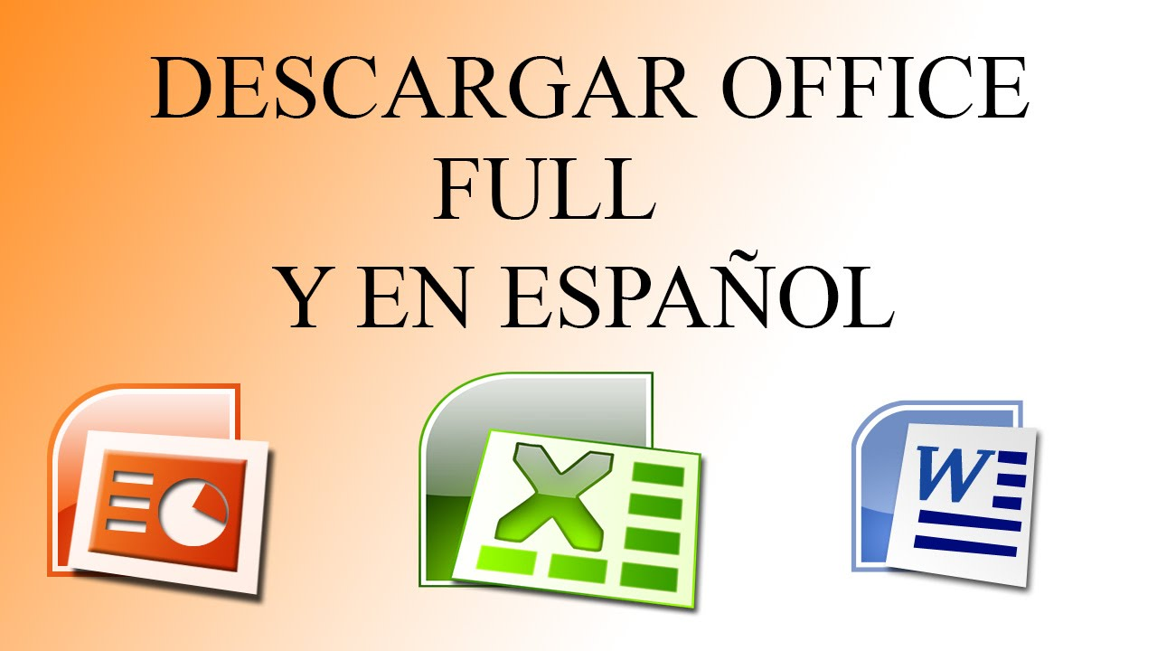 descargar office 2007 gratis con serial