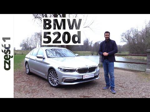 BMW 520d 2.0 Diesel 190 KM, 2017
