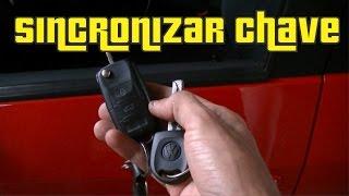Sincronizando a Chave Canivete com o Alarme do Gol G5 e G6