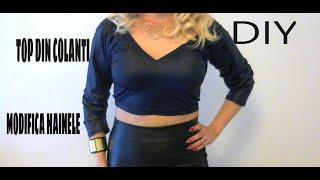 DIY: Bluza din colanti/ Trasformare dei leggings in una maglietta