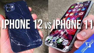 iPhone 12 vs iPhone 11 Drop Test - 4x More Drop Resistant?