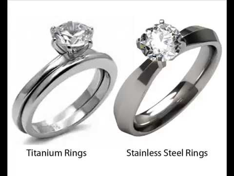 Titanium vs Stainless Steel Engagement Rings