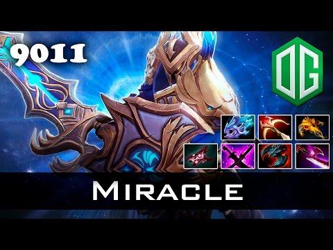 Miracle Sven - 9011 MMR Ranked Dota 2